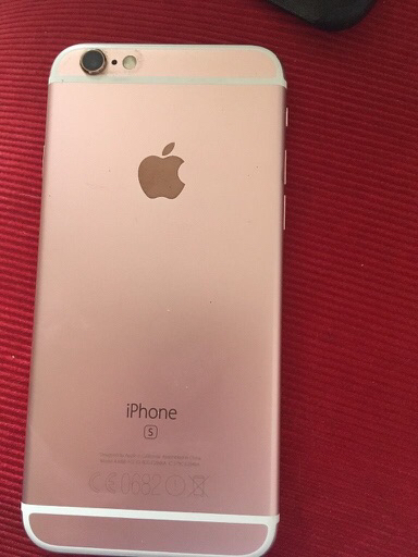 iPhone 6S rose gold 64GB good condition
