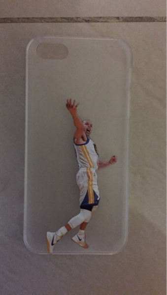 iPhone 5/5S Steph Curry cover