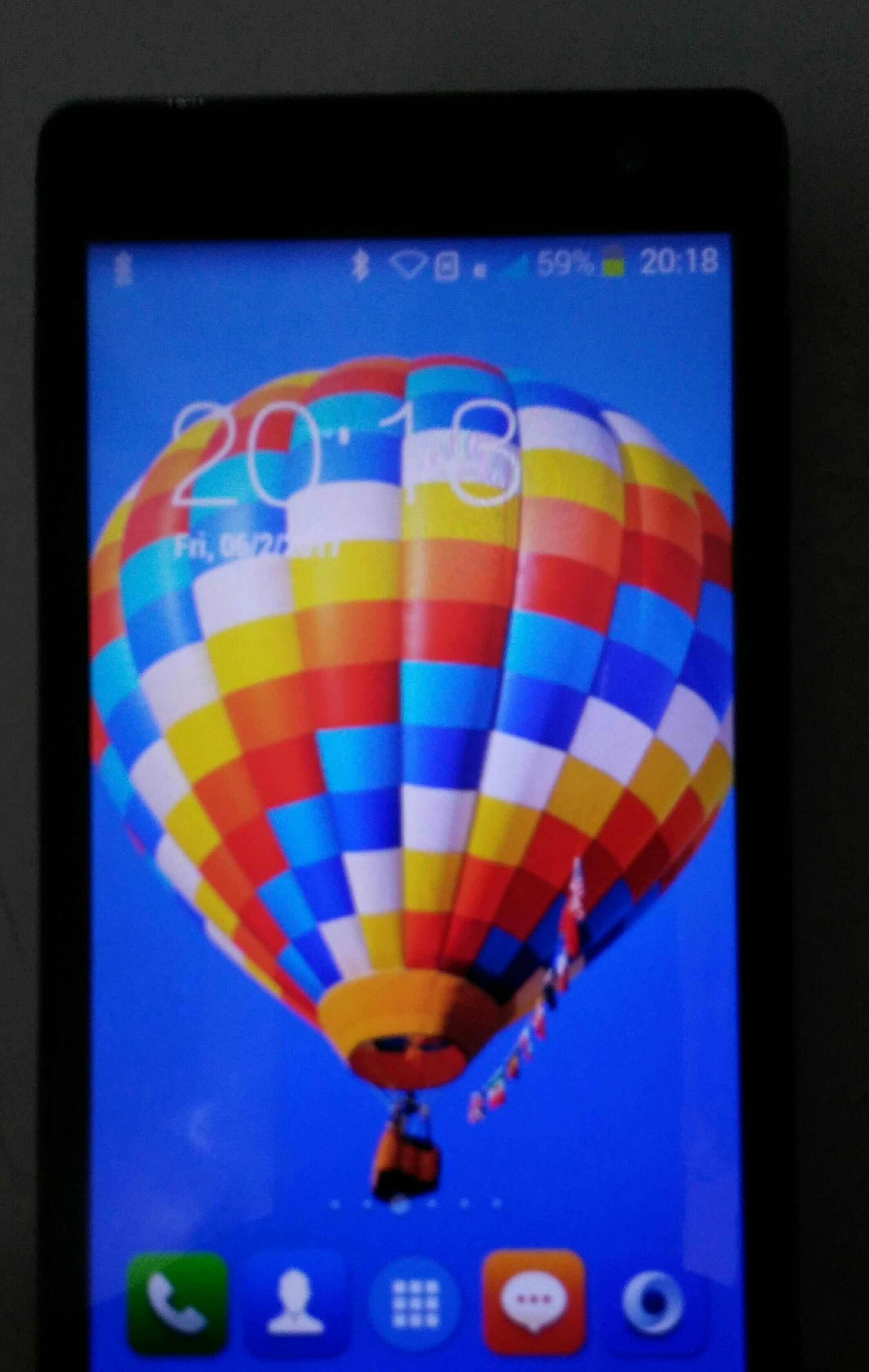 "Itel 5""dual Sim Only Mobile And Back Cover"
