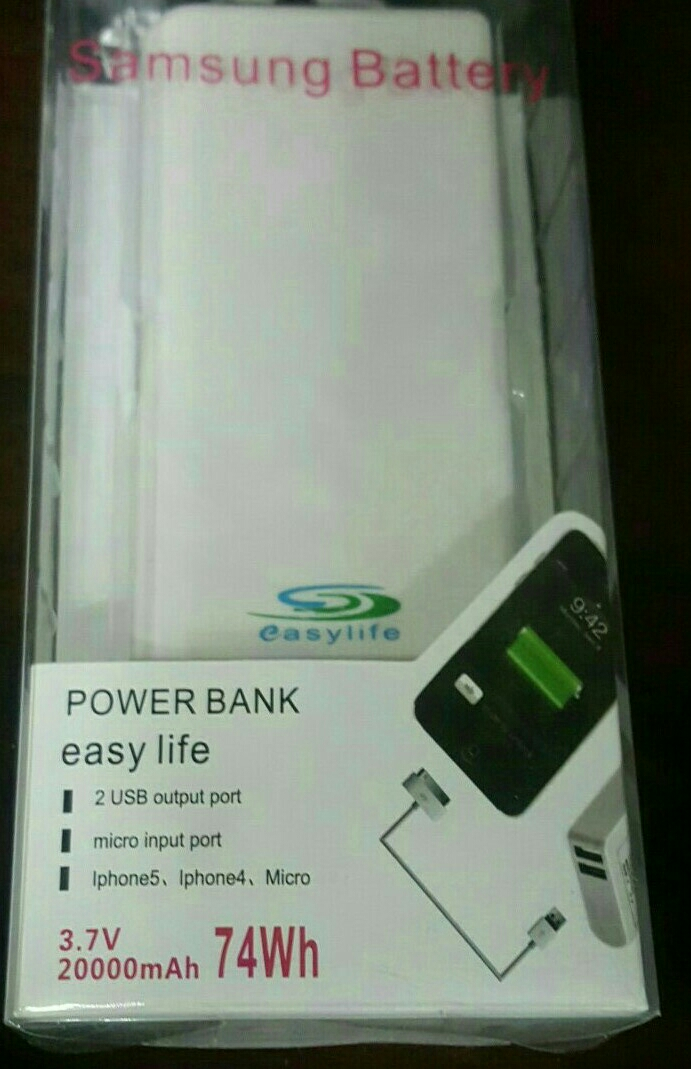 Power Bank Mobile  Can Be Recycled 500 Times..very Easy Life..