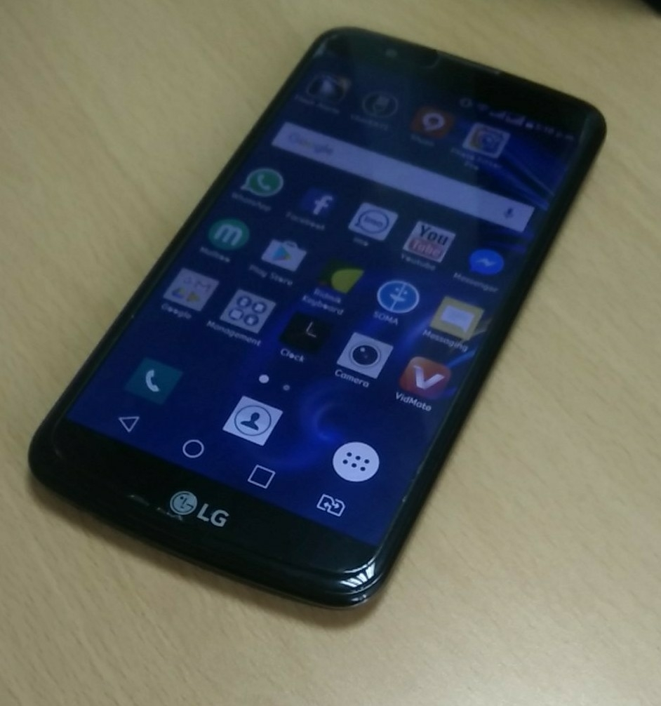 Lg K10. 16GB. 4 months used. With 8 months warranty