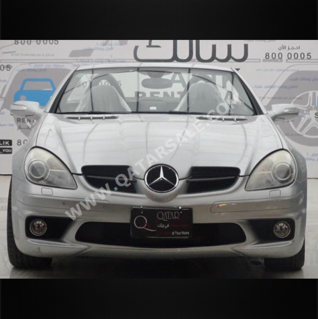 Mercedes Convertible  Slk 55 Amg Price 45000 Only Car Is In A Good Condition
