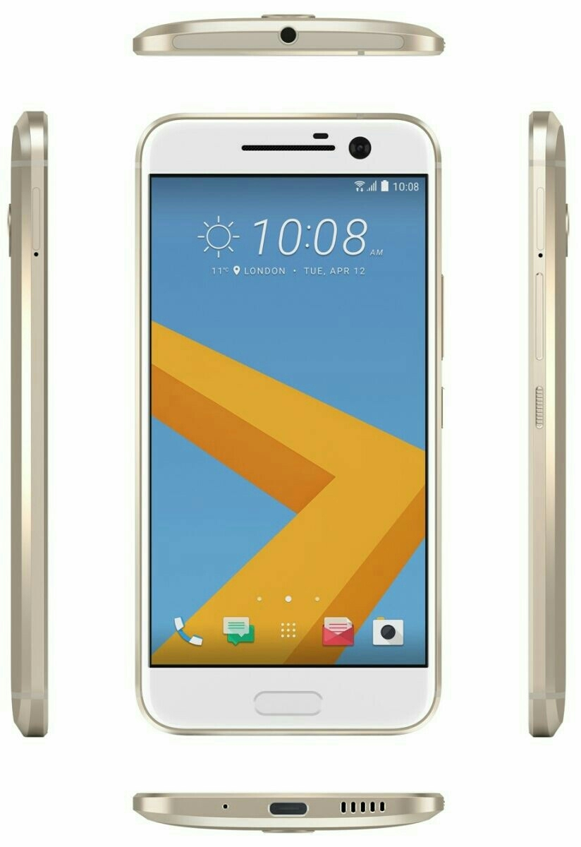 HTC One 10, 32GB, 4G LTE, Gold