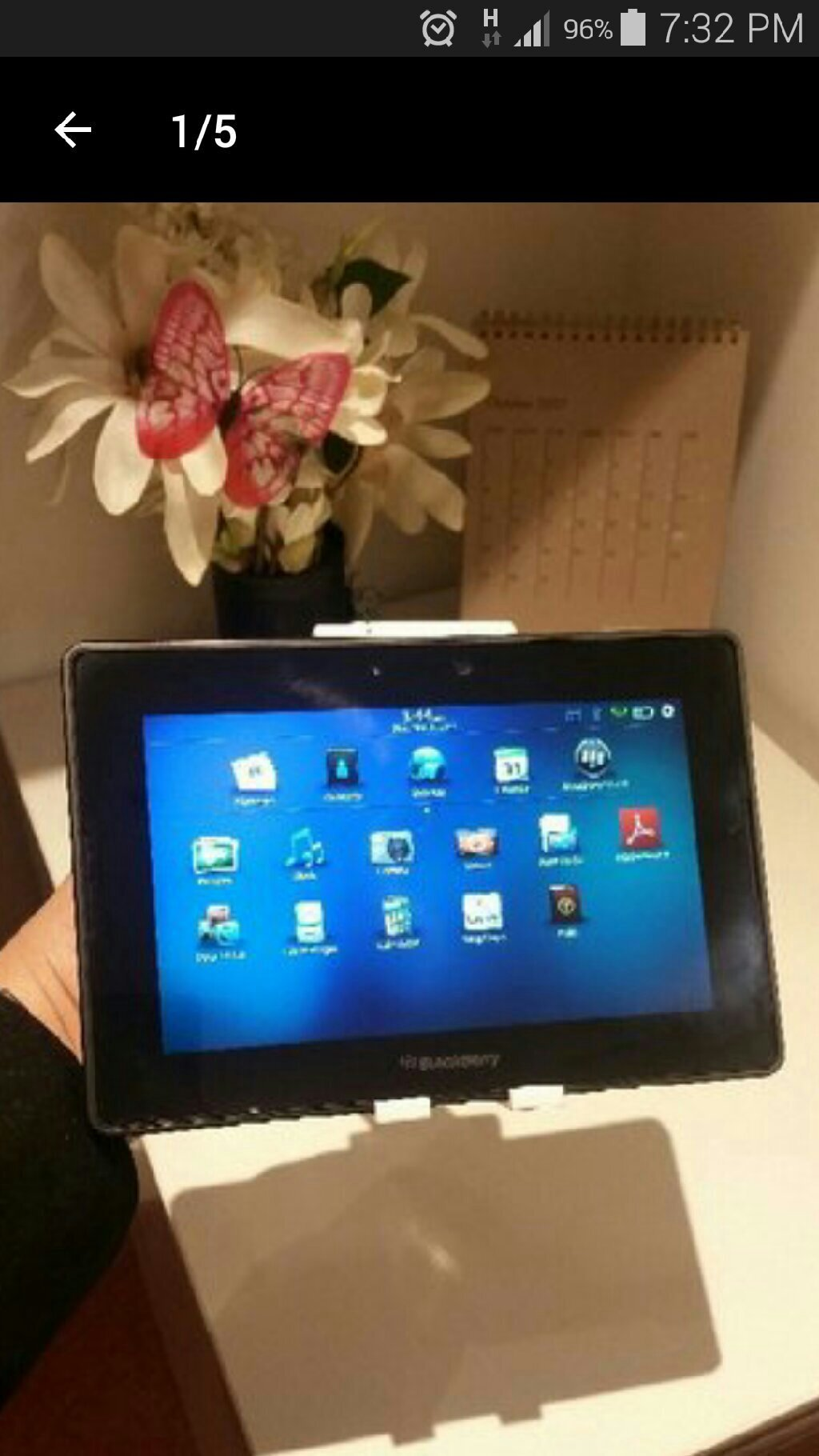 Blackberry Playbook 32 GB, Only Wifi