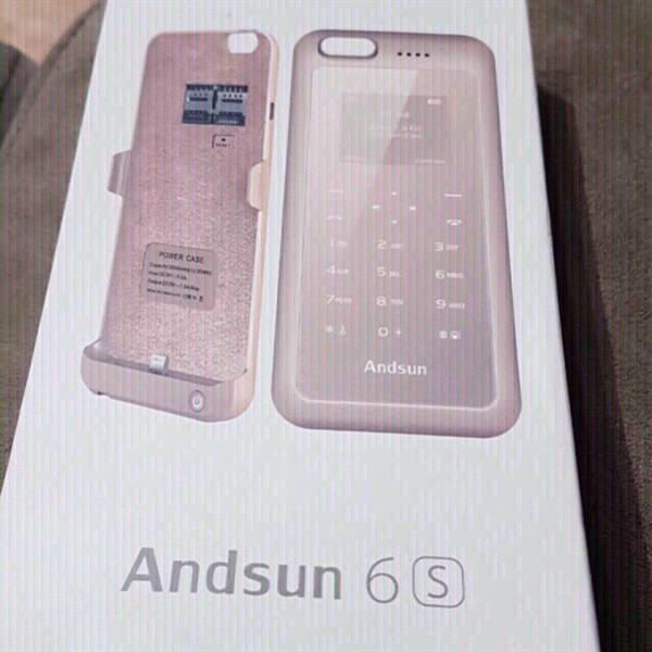 Andsun 6S Phone With Built-in Powerbank
