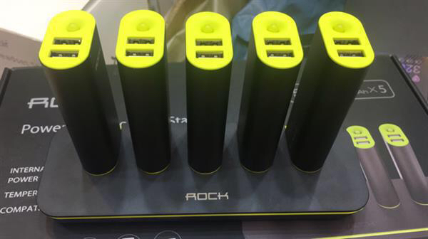 5 Pcs Power Station Portable Powerbank Of 5200mah. Easy For Your Office And Home Use