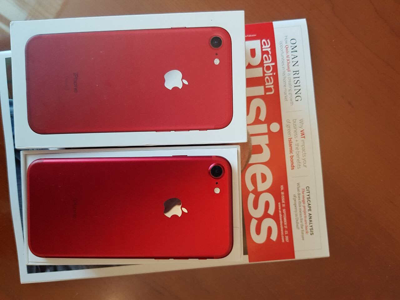 IPhone 7(red edition) 128gb