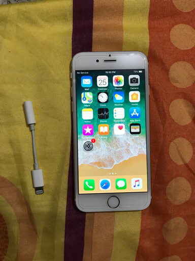 iPhone 6,128GB ,NO service and searching