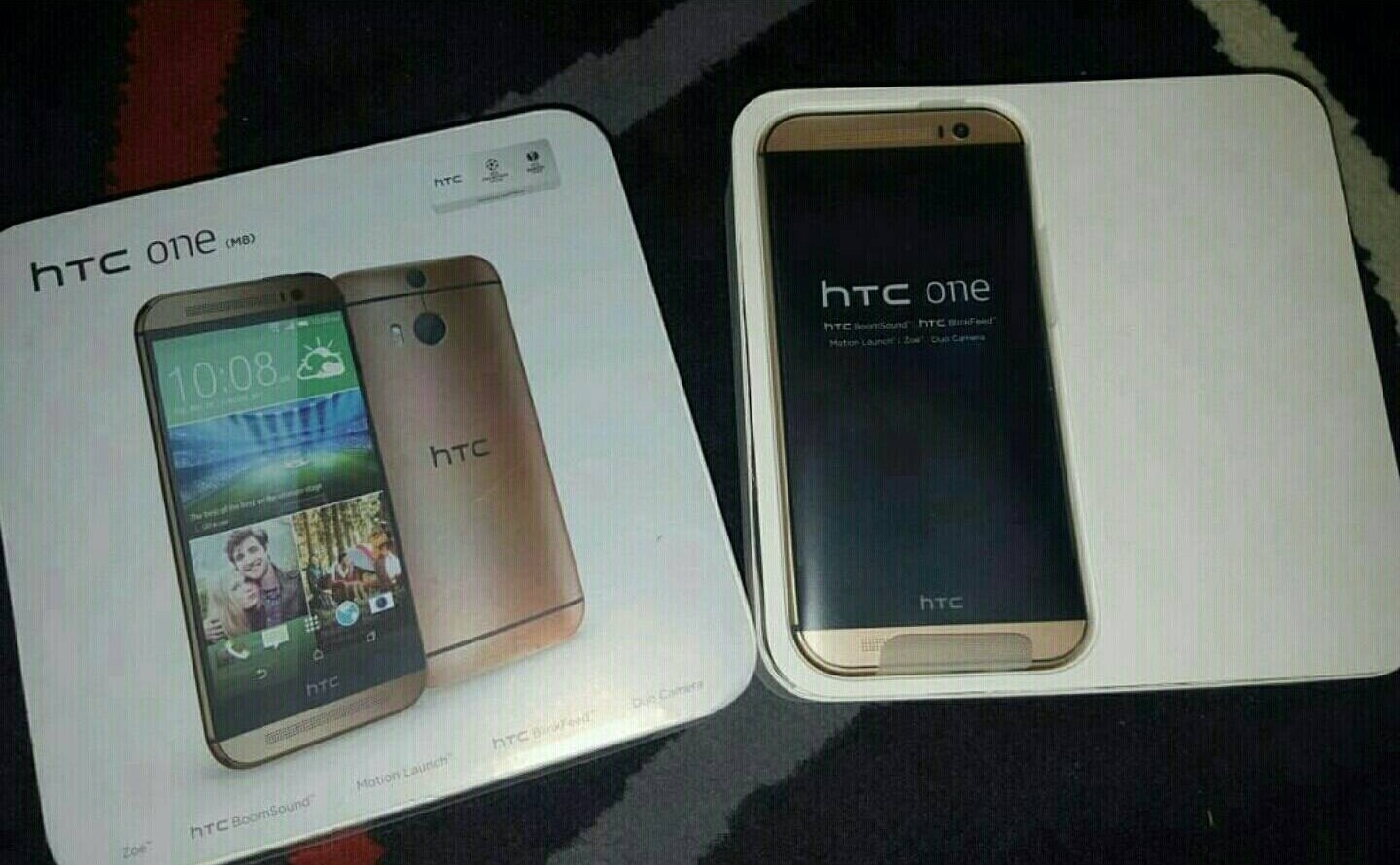 HTC M8 Three Colours Available Box Pack new