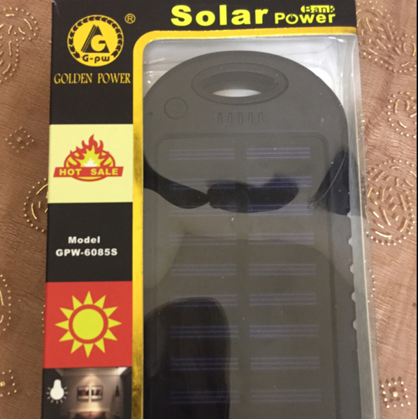 Hi, I'm selling #Brand new Solar power bank never used 30000MAH. built in solar panel led light torch light .Charge even when you don't have electrical connection around you by Sun light