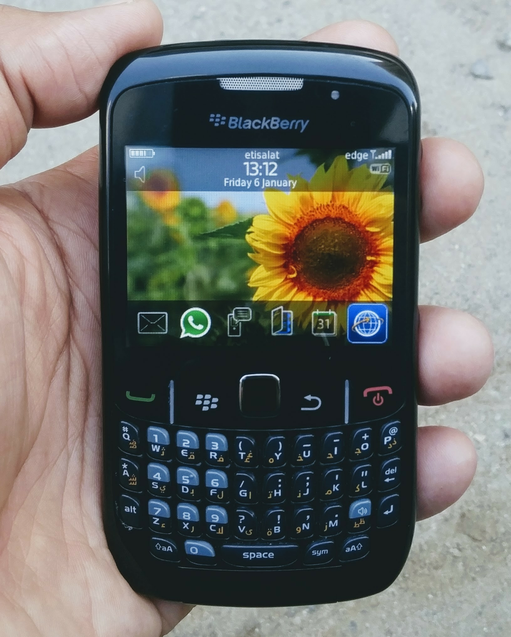 BlackBerry Curve 852O Good Condition Whatsapp Working