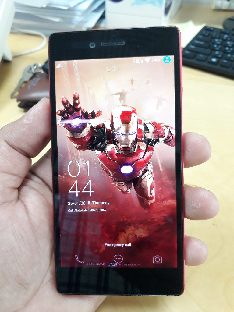 Lenovo vibe shot mobile