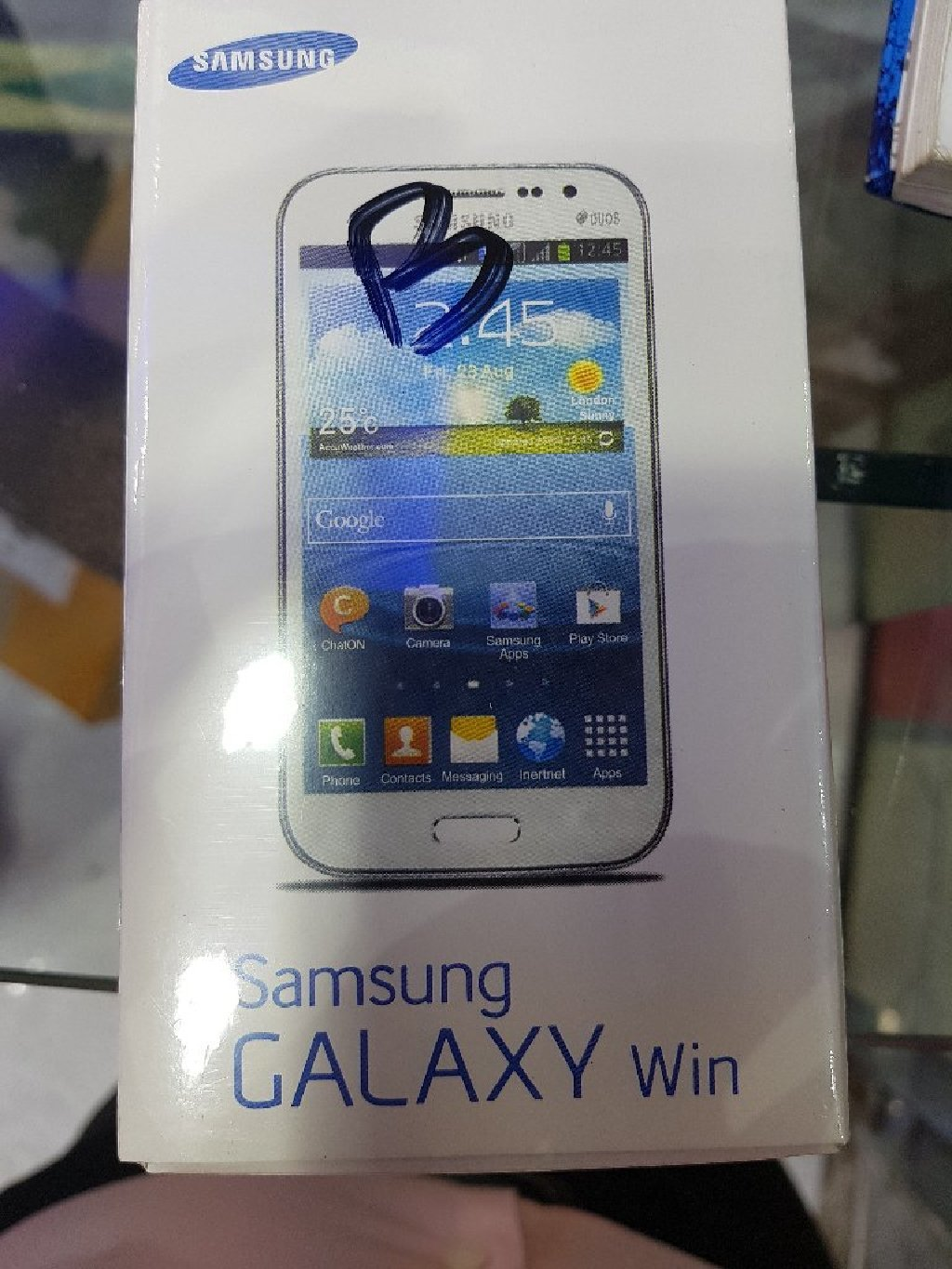 Samsung Galaxy win brand new selled pack