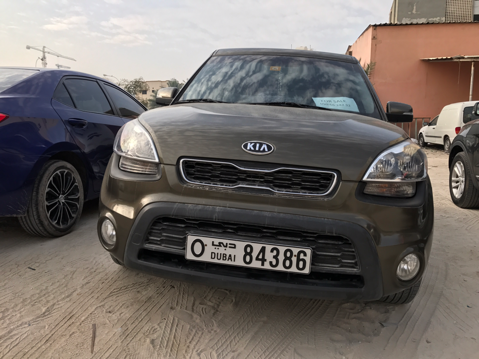 Kia  Soul 2012 In Excellent Condition...no Need To Spend Any Coin On It.just Set And Drive...