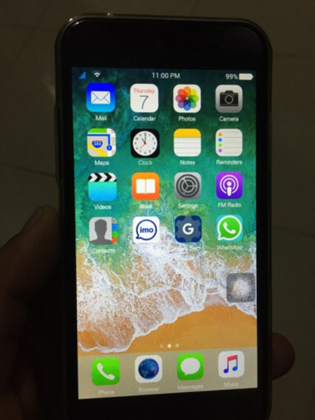 I Phone X Good Working condition Copy