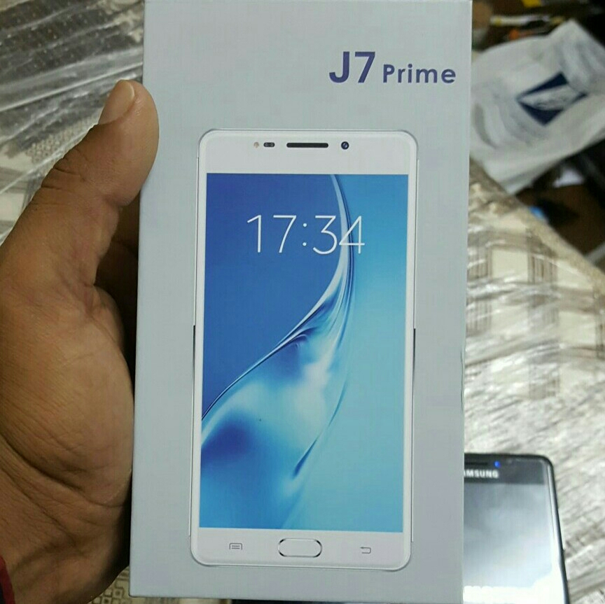 J 7 Prime New Only Open Box With All Accessories Korean Virsion Brand New Silver