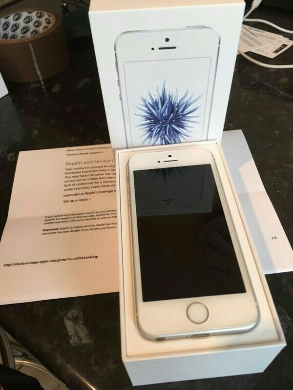 Iphone se # Silver / Rose Gold / Space Grey # 16gb # With Warranty