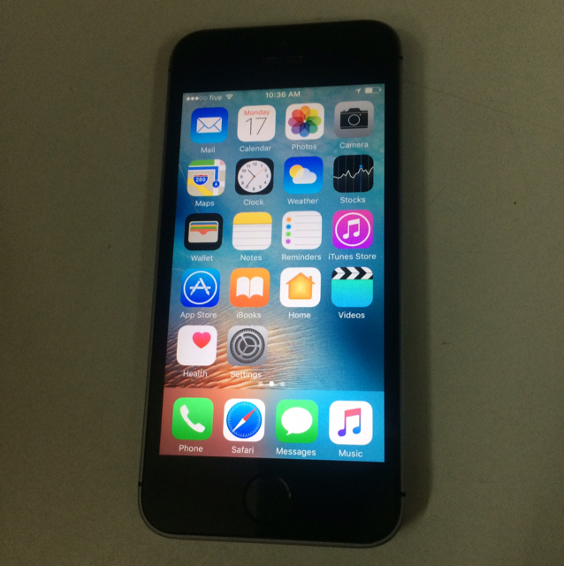 Original iPhone 5s Used 64 gb Not With Any Accessories