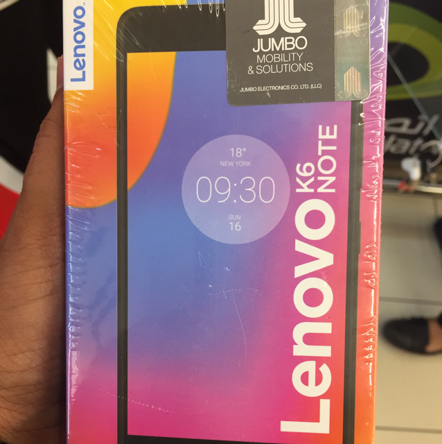 Absolutely Brand New LENOVO K6 Note At The Lowest Price!
