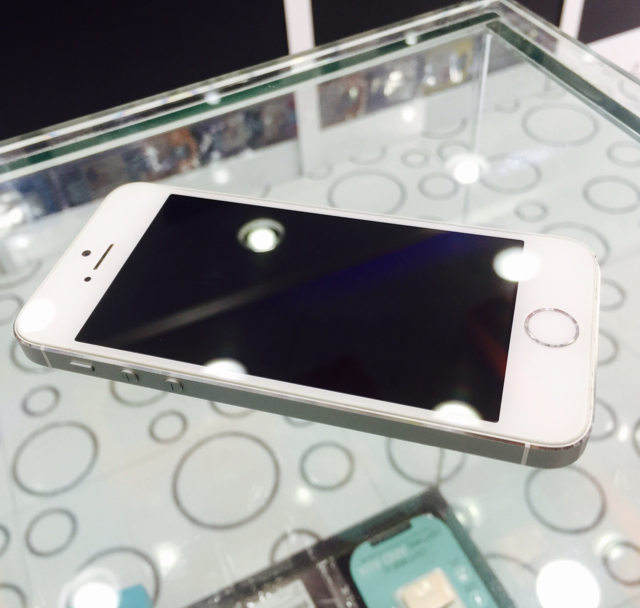 Iphone 5s 16GB Silver light use