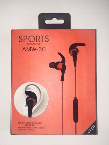 Wireless Stereo Sport headset (RED)