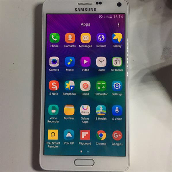 Samsung Note 4 32gb with complete accesories
