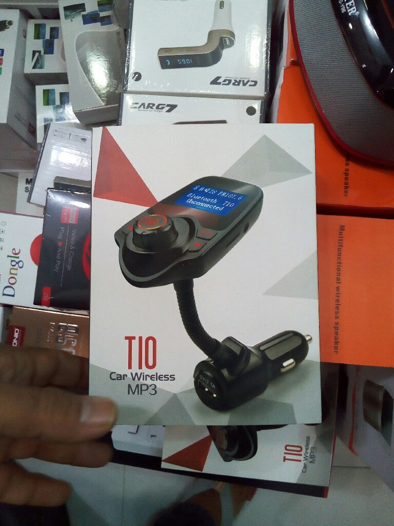 Bluetooth fm transmitter and mp3
