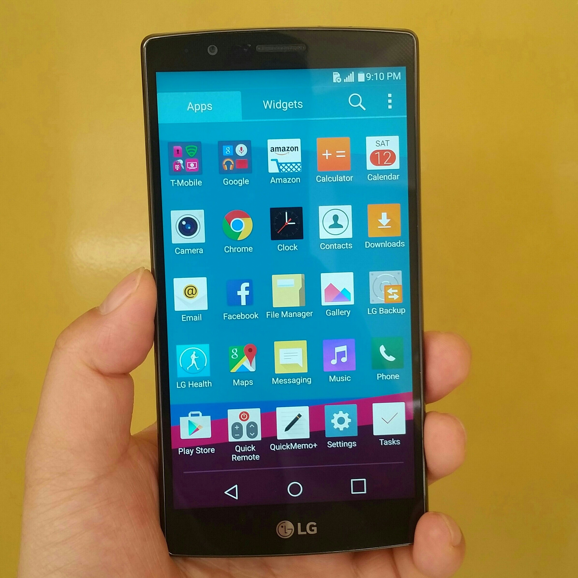 """LG G4 Blue Coral 32 GB 3 GB Ram """" Made in Korea"""" Only Mobile, Price Fix."""