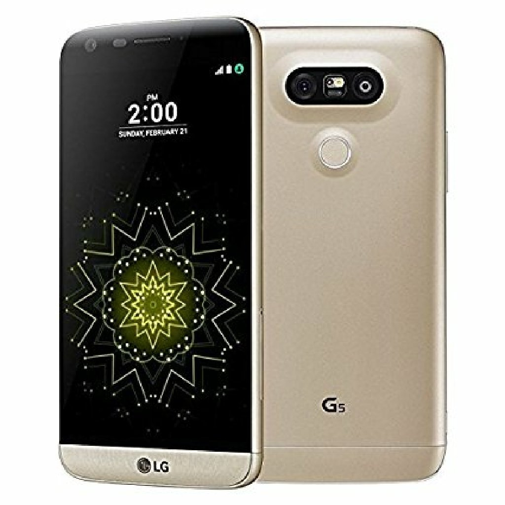 Lg g5 gold color with box 32gb dual sim