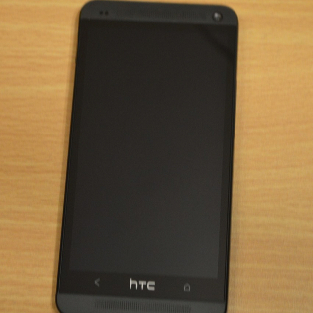 HTC M7. 32GB. black  no used