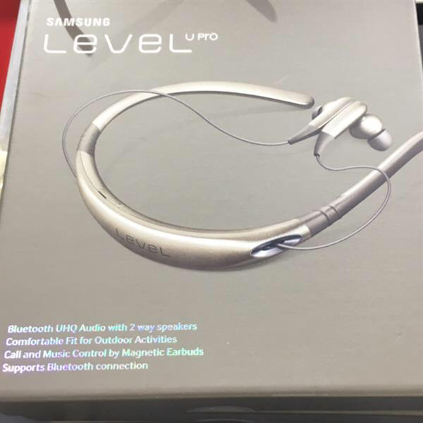 Samsung Level U Pro Wireless Bluetooth Earbuds Gold
