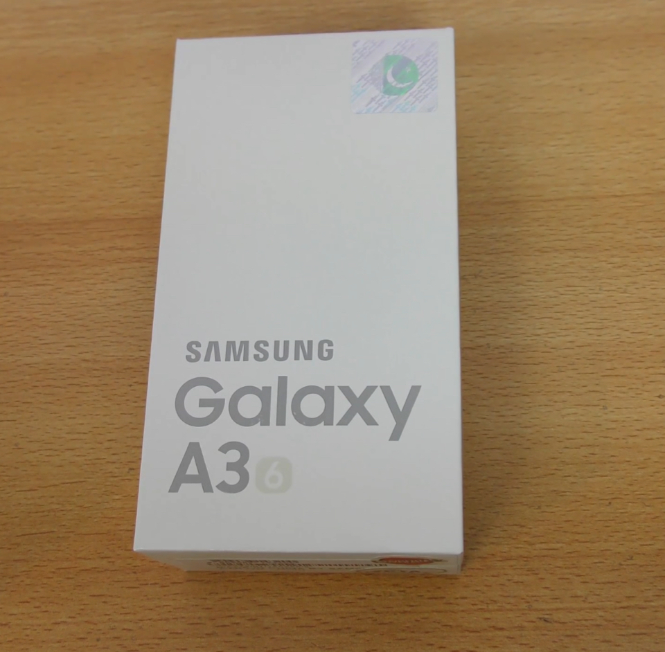 A3 by samsung with one year