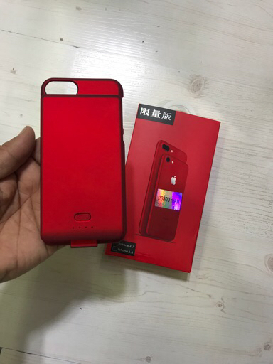 I Phone cover with power bank