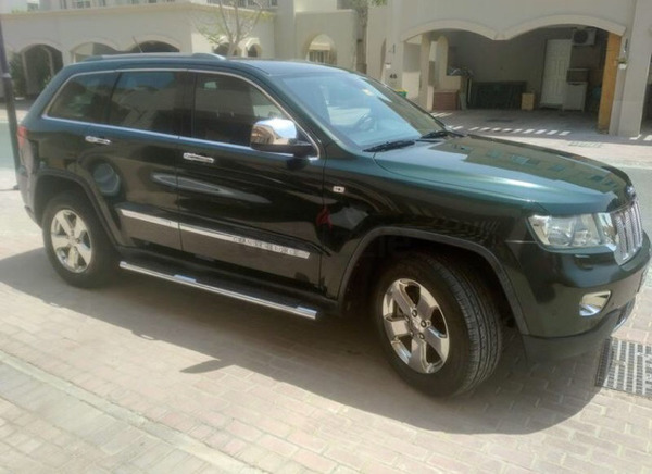 Jeep Grand Cherokee Limited GCC Specs (Low Milage)