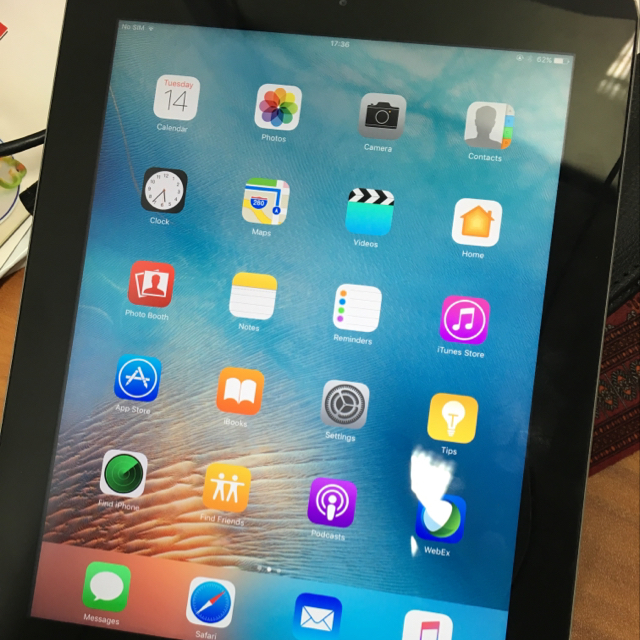 iPad 4 Wifi 64gb, Used For One Year, Perfect Condition.
