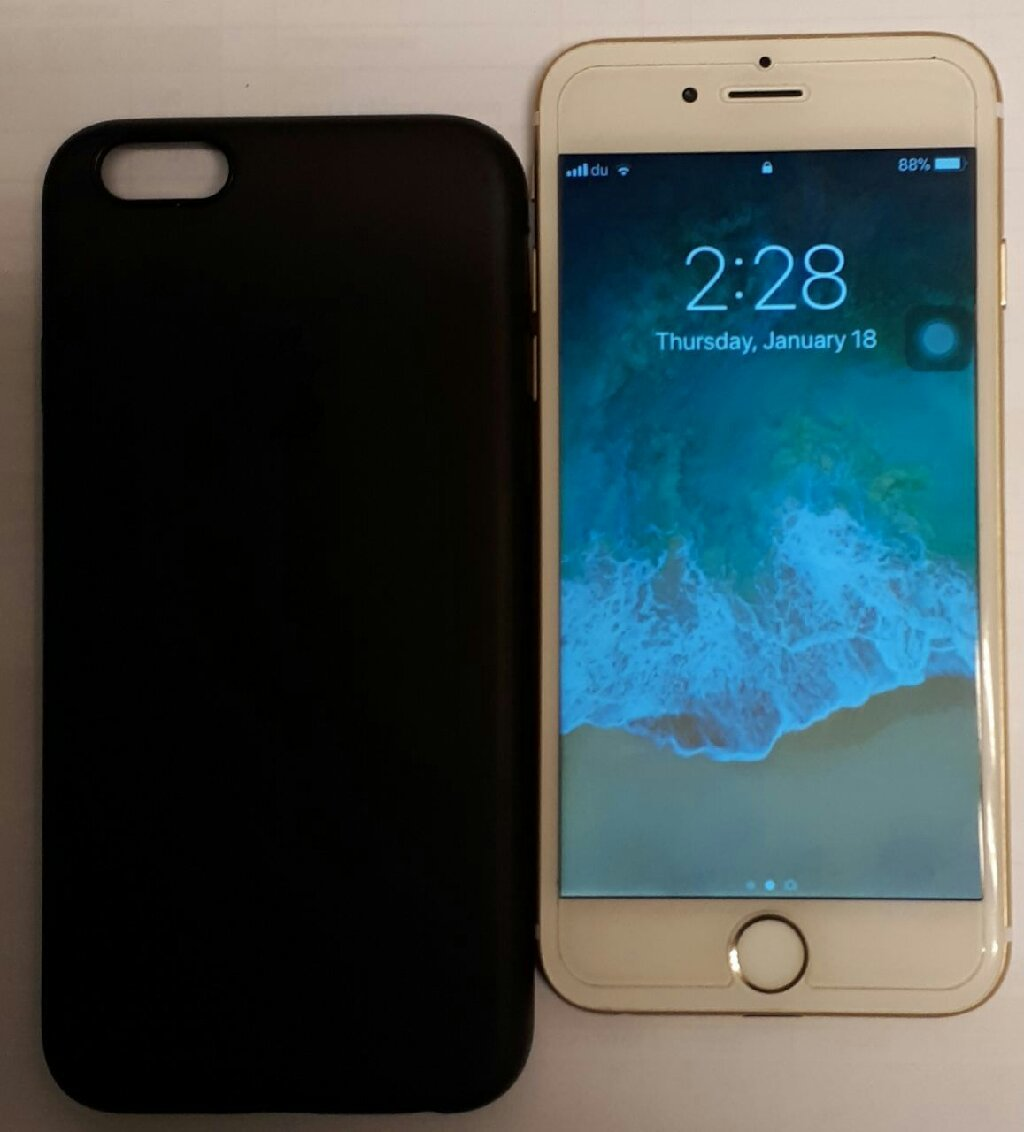 I phone 6 64 gb with box & charger