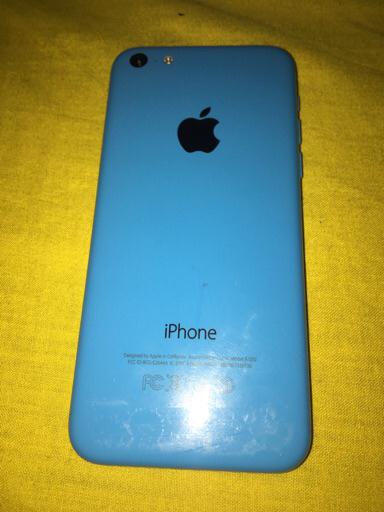 Iphone 5c green colour
