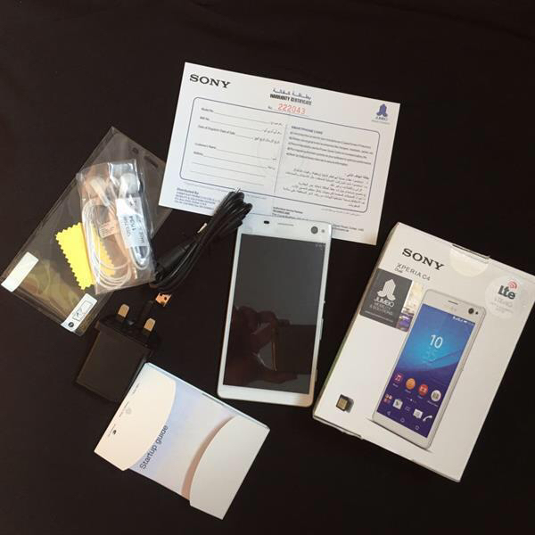 Unwanted Gift Brandnew Mobile Xperia C 4 with warranty