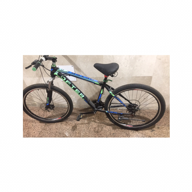 💨 Cycle Matt Black And Green ! Often Brand! Littlr Repairs Inly