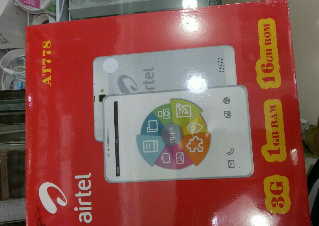 Air Tel Tablet. 3G. 1 Gb .Rum 16Gb   1year Warranty