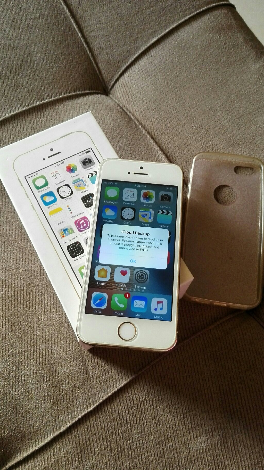 IPhone 5s 64GB Gold Color