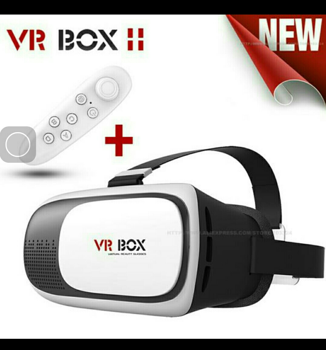 VR Box With Remote Box Pack