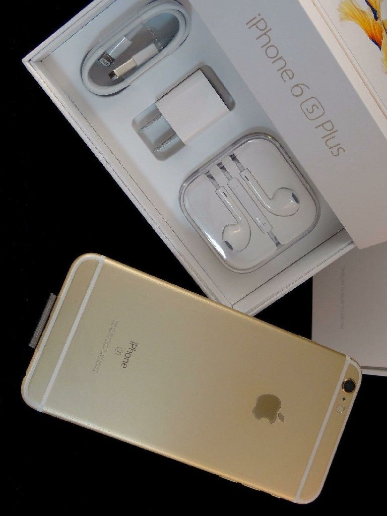 Iphone 6s plus with box and accessories