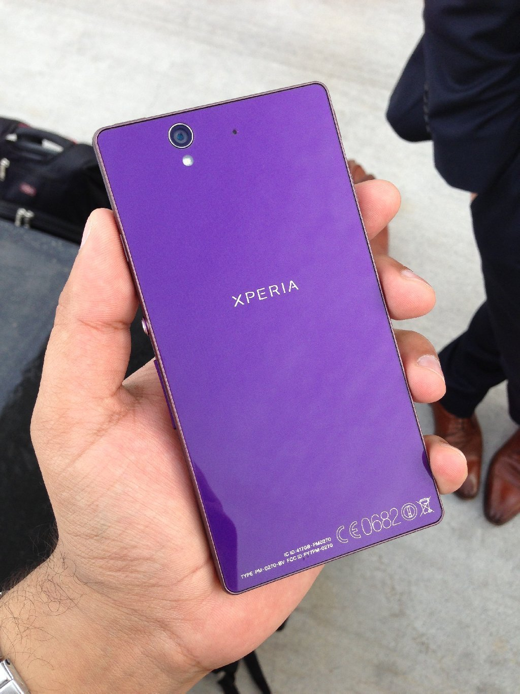 Sony Xperia Z: Purple Edition-GOING HOT!