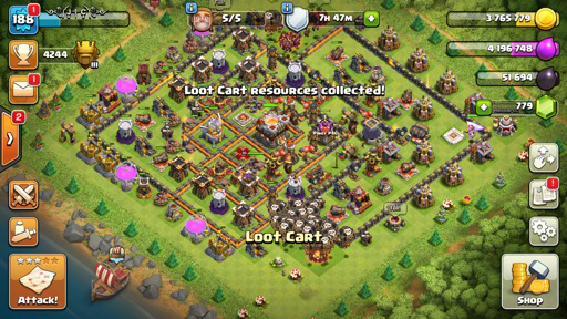 Selling Clash of Clans and Mobile Legend