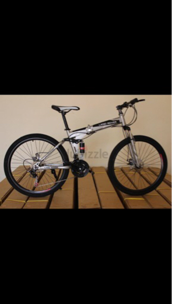 Land Rover Foldable Bicycle New