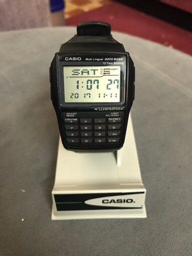Casio orginal data bank watch brand new