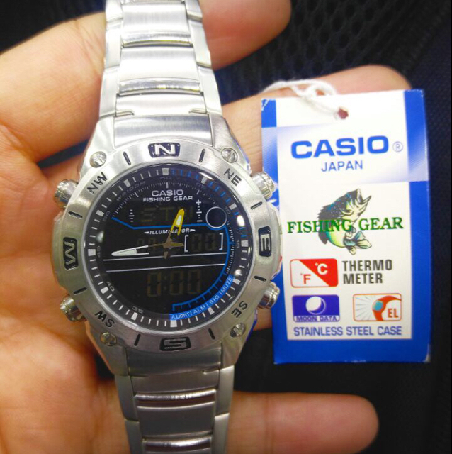 Casio Original Watch With Original Box Brand New