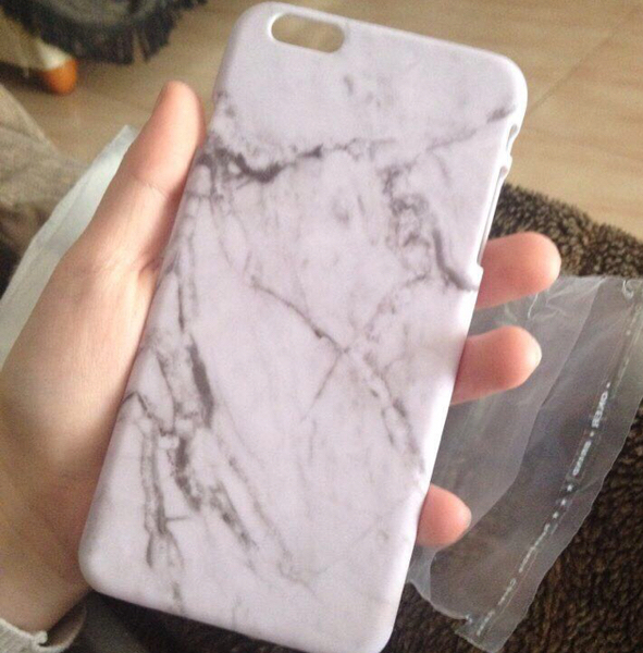 White Marble Case For iPhone 6/6s