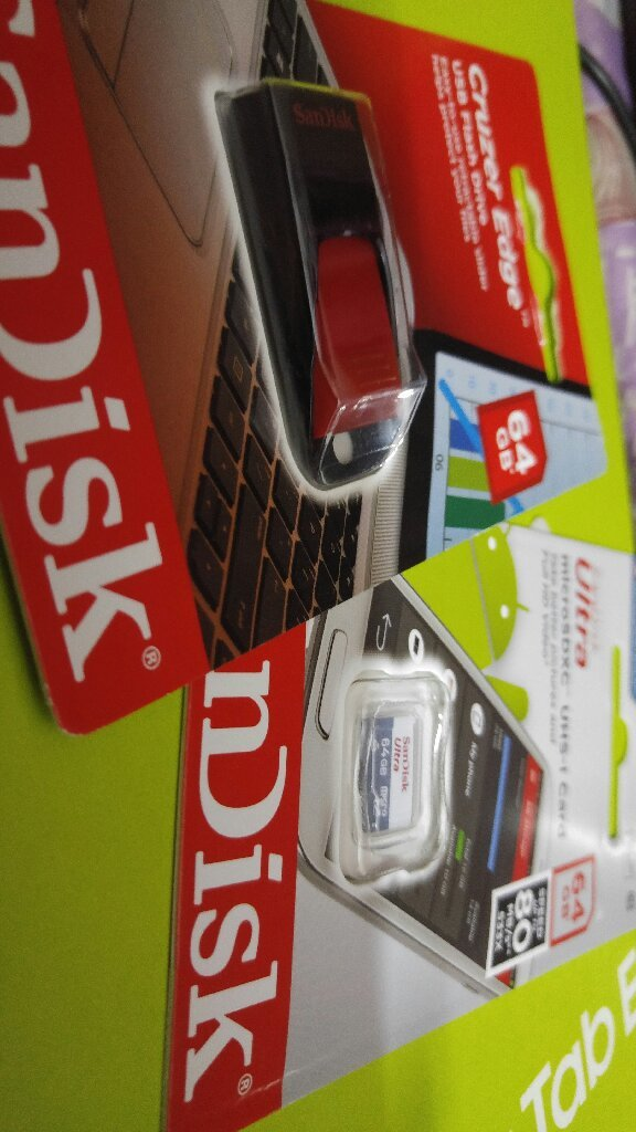 sandisk flash drive and sd card 64gb